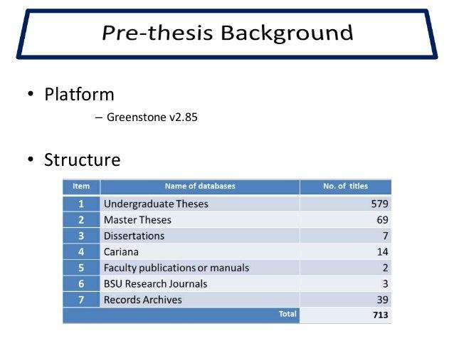 Proquest digital dissertations database