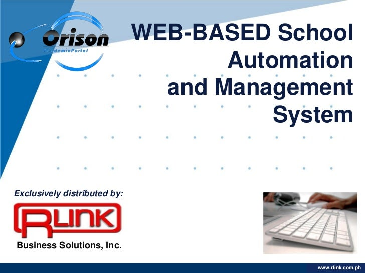 WEB-BASED School                                     Automation                                and Management             ...