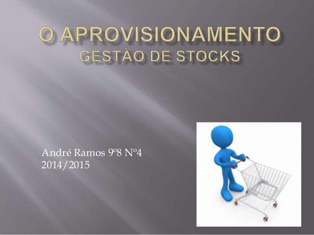 André Ramos 9º8 Nº4  2014/2015