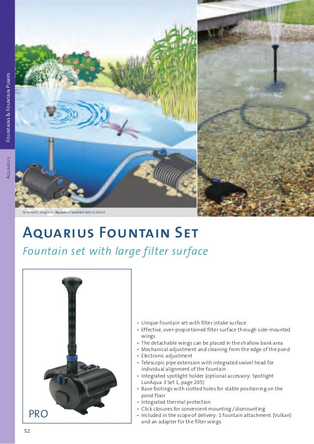 Oasis T-Régulateur G 1 Pour Aquarius Fountain Set