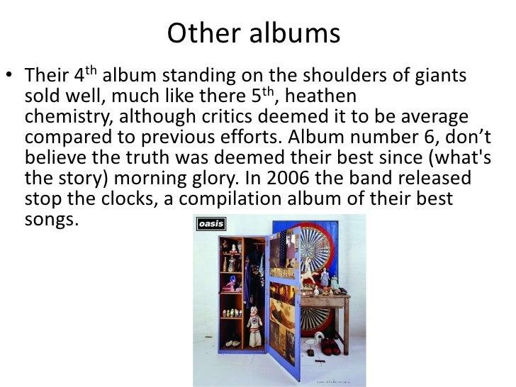 download album oasis standing on the shoulder of giants