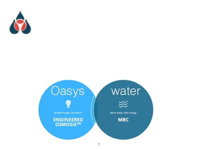 Oasys        water        !1