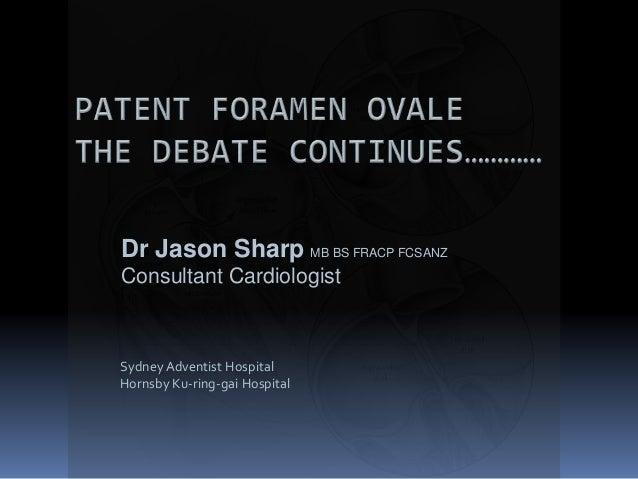Sydney Adventist Hospital Hornsby Ku-ring-gai Hospital Dr Jason Sharp MB BS FRACP FCSANZ Consultant Cardiologist