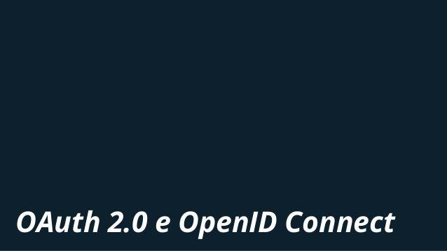 OAuth 2.0 e OpenID Connect