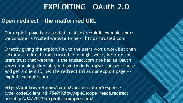 OAuth 2 0