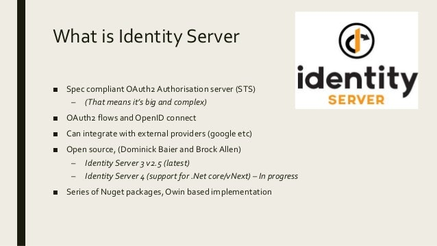 OAuth2 and IdentityServer3
