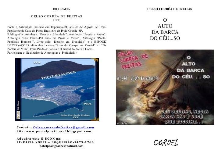 BIOGRAFIA                                 CELSO CORRÊA DE FREITAS                 CELSO CORRÊA DE FREITAS                 ...