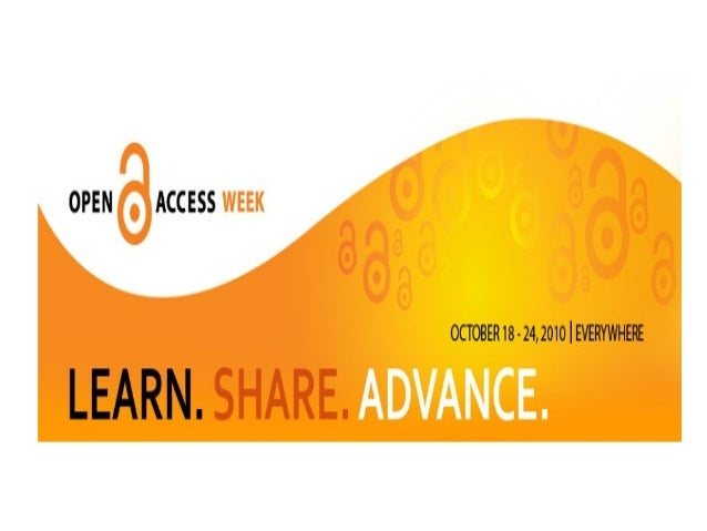 OPEN ACCESS  OCTOBER 18 » 24,2010 I EVERYWHERE       RN.