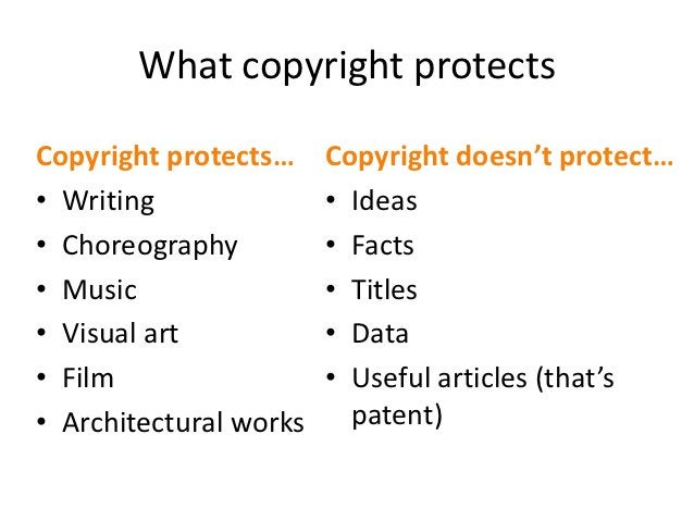 """Who owns copyright?• Individual creator• Joint creators• Corporate creators via """"work made for hire""""  – with some exceptio..."""