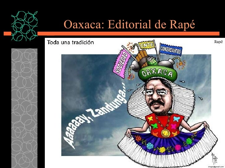 Oaxaca: Editorial de Rap é