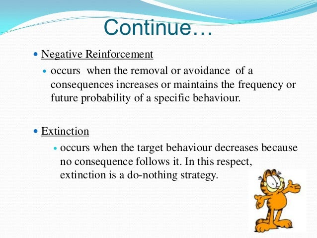 organizational behavior behavior modifications