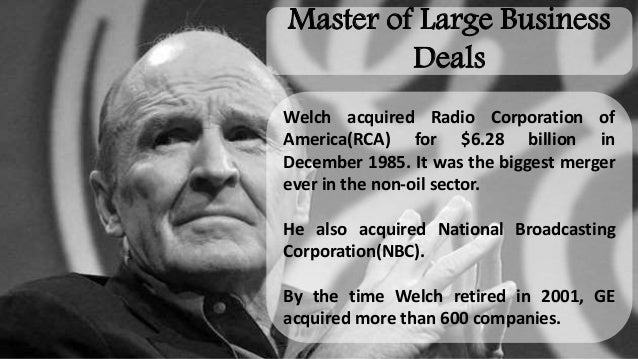 jack welch and the general electric management system Jack welch became deputy director for intelligence (ddi) after long service at  general electric  during welch's 20-plus years as head of ge, he defied  conventional wisdom  would just log-on a secure system and search for the  latest products,  the council included the top layers of di management.