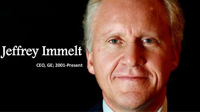 jack welch and jeffrey immelt leadership style General electric: from jack welch to jeffrey immelt  from jack welch to jeffrey immelt case study  jack welch and jeffrey immelt under jack welch's leadership, ge, one of the most admired.