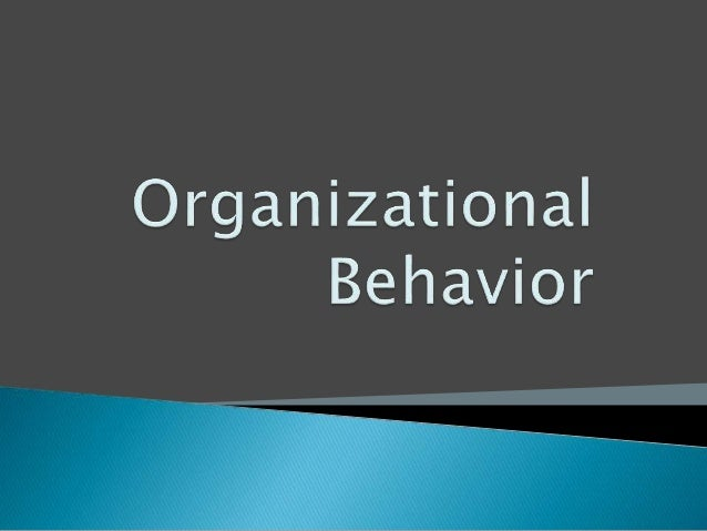 natural ability in organisational behaviour Annual review of organizational psychology and organizational behavior  or  an innate ability that inspires those around them to follow a cause or purpose.