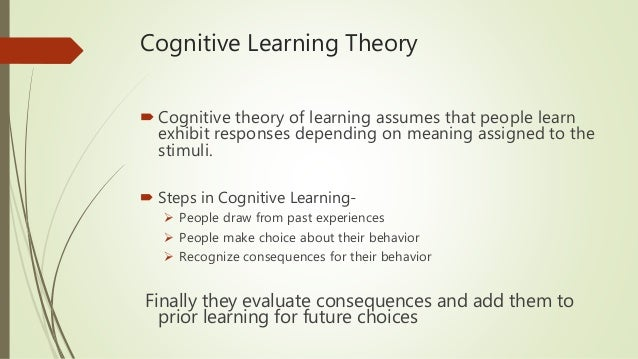 Evaluate Social Learning Theory