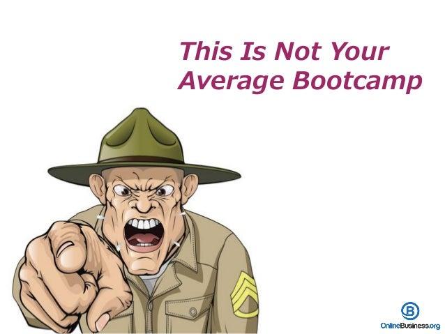 Bootcamp Curriculum Slide 2