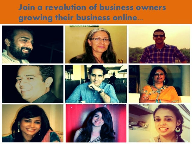 Join a revolution of business owners growing their business online...