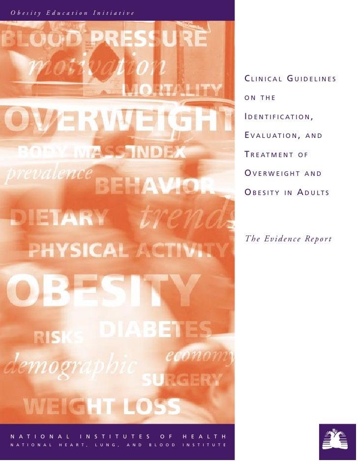 Obesity Education Initiative                                                                                         CLINI...