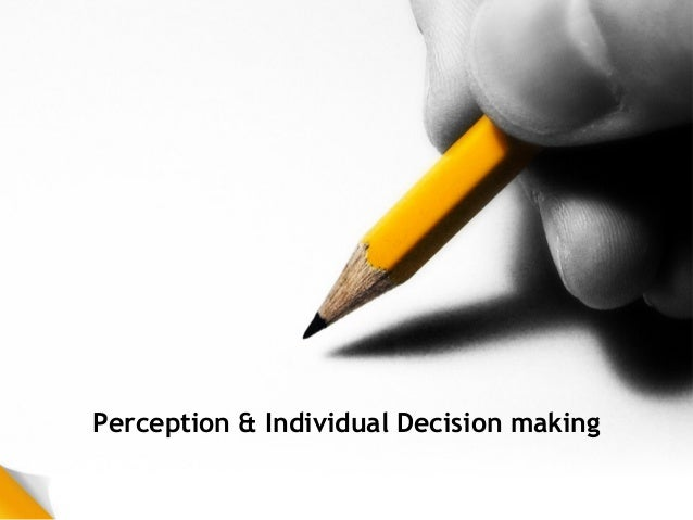 perceptual errors essay The text elaborates on the perceptual process, external and internal factors that influence perception, person perception, perceptual errors, and attributions that people make to explain their behaviors and those of others.