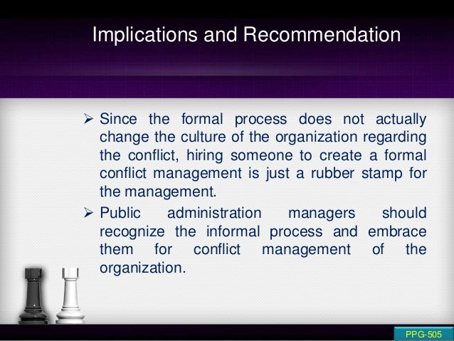 organizational conflict management role of hr The individual roles listed below have been identified as key to the recruitment and selection process: hiring manager (hm) identifies hiring need, develops the position description, recruitment plan, organizational chart and other recruitment related documents.