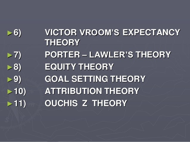 porter and lawler expectancy theory pdf