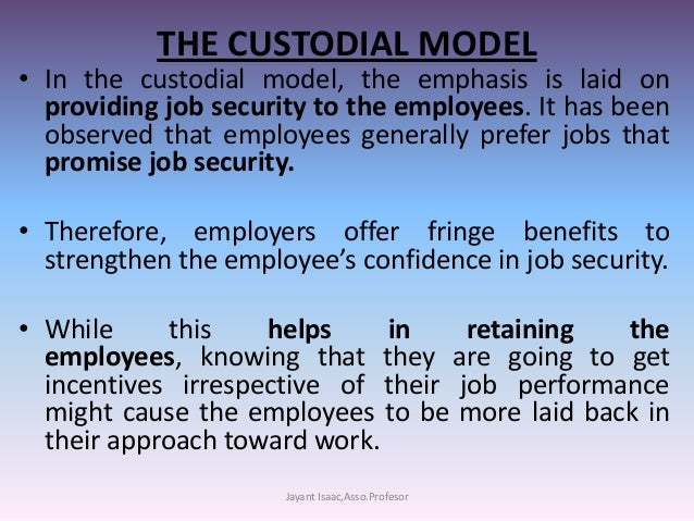 an introduction to the work of a custodian Custodial skills training is designed to provide individuals with training in  custodial  the program begins with an introduction to the work environment and .