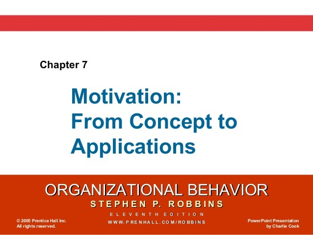 Chapter 7                            Motivation:                            From Concept to                            App...