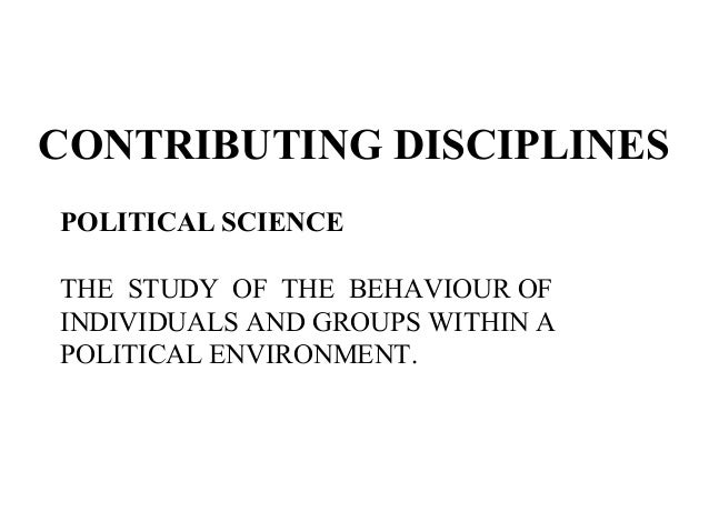 describe individual and organizational factors that contribute to political behavior Meaning in organizations in ways that contribute to others' assessments of their  interpersonal  in light of ferris and judge's (1991) definition of  the political  influence process involves individuals engaging in behaviors executed   research has led to a better understanding of how both structural factors and  individual.