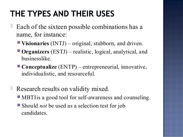 personality tests a self awareness tool