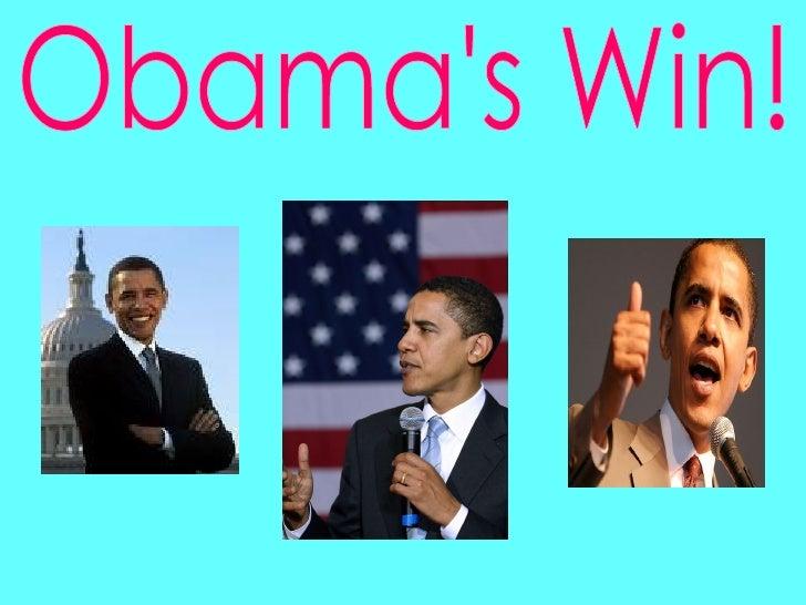 Obama's Win!