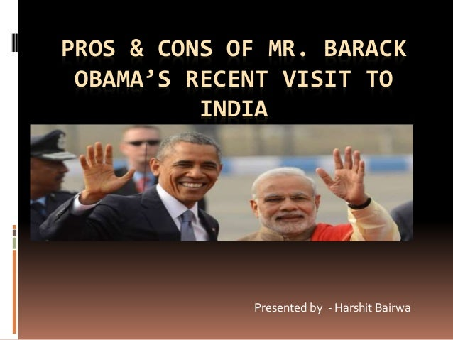 President Obama's visit to India – in pictures