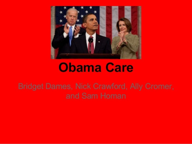 Obama Care Bridget Dames, Nick Crawford, Ally Cromer, and Sam Homan