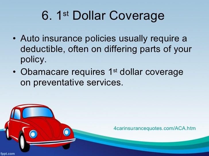 Dollar Deductible Car Insurance