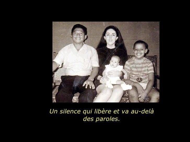 Un silence qui libère et va au-delà des paroles.