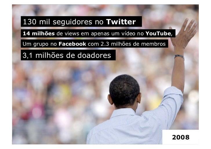 Barack Obama: Case em mídias sociais Slide 2