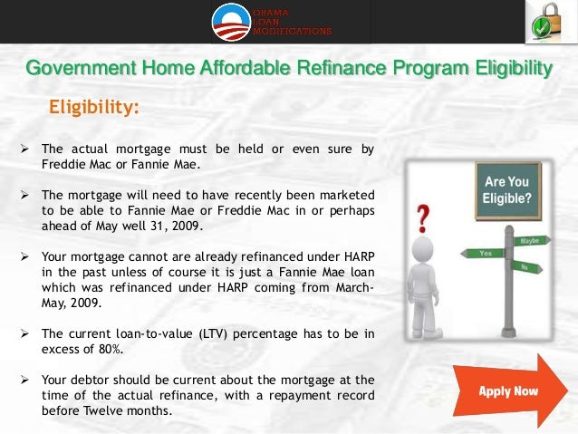 Benefits Of Making Home Affordable Refinance Program 638 Cb Package Fannie Mae And