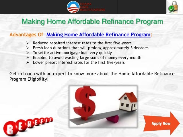 Home Affordable Refinance Program Eligibility Requirements