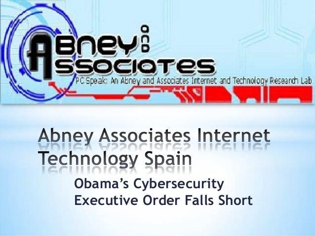 Obama's CybersecurityExecutive Order Falls Short