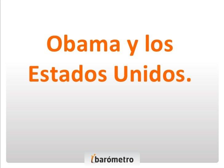 Obama y los Estados Unidos.
