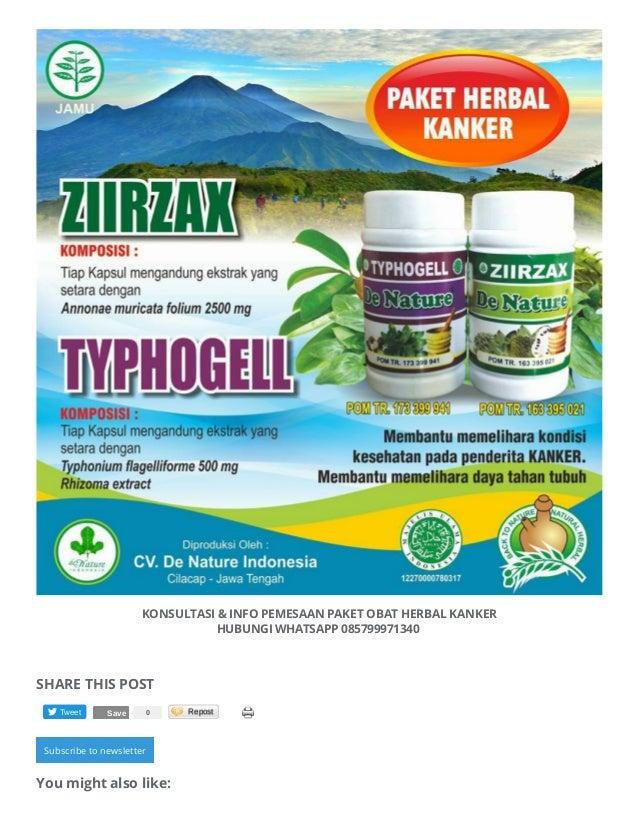 Obat Tradisional Untuk Mengobati Kanker Getah Bening