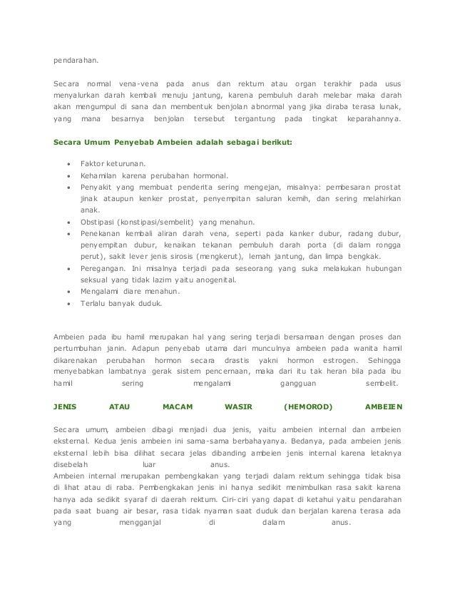 Obat ambeien herbal baik untuk jangka panjang Slide 2