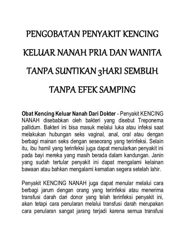 PENGOBATAN PENYAKIT KENCING KELUAR NANAH PRIA DAN WANITA TANPA SUNTIKAN 3HARI SEMBUH TANPA EFEK SAMPING Obat Kencing Kelua...
