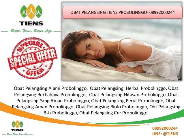 Obat Pelangsing Tiens Probolinggo 089 92000 244 Slide 2