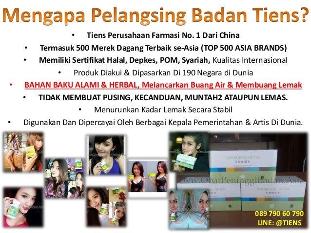 Obat Pelangsing Tiens Probolinggo 089 92000 244 Slide 3