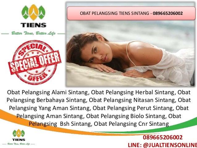 Obat Pelangsing Tiens Sintang 089 66520 6002 Slide 2