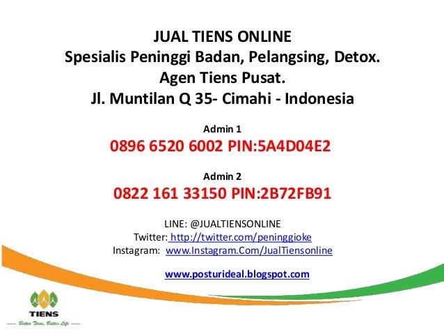 Obat Pelangsing Tiens Tual 089 66520 6002
