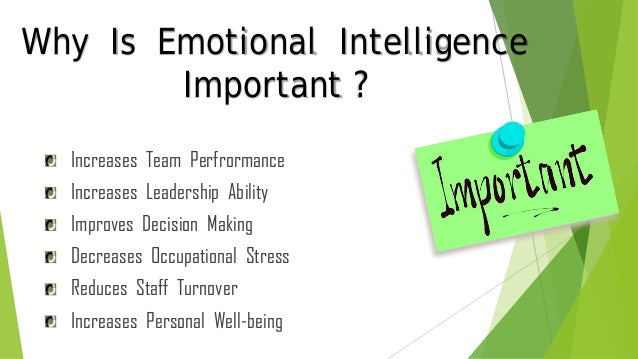 effects of emotional intelligence on leadership Emotional intelligence and transformational and transactional leadership: a meta-analysis  leadership positions, emotional intelligence skills account.