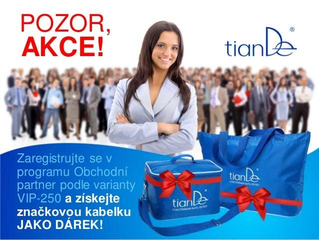 POZOR,  AKCE!  Zaregistrujte se v programu Obchodní partner podle varianty VIP-250 a získejte značkovou kabelku JAKO DÁREK...