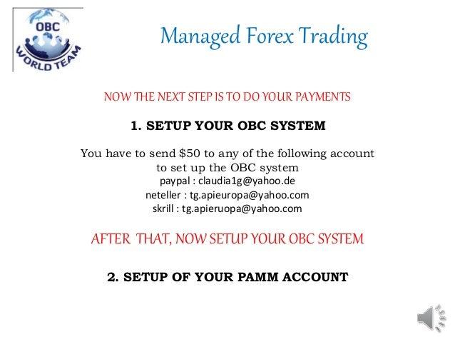 Hotforex pamm system