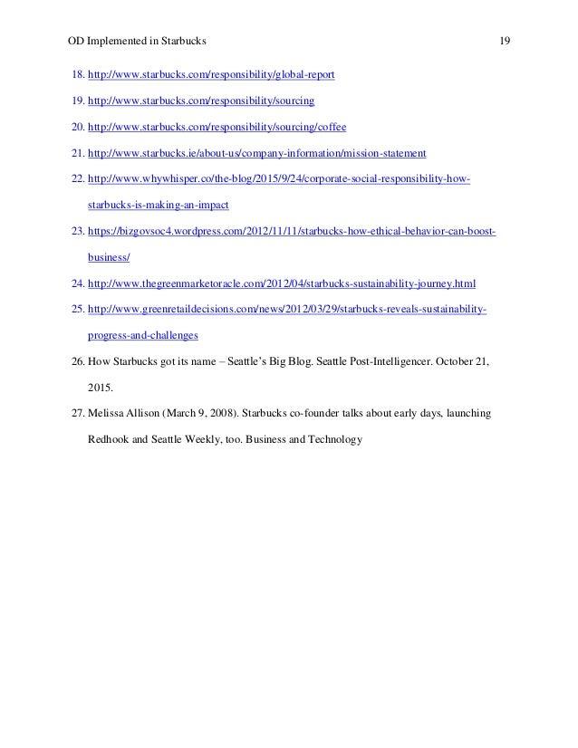 starbucks executive summary 2016